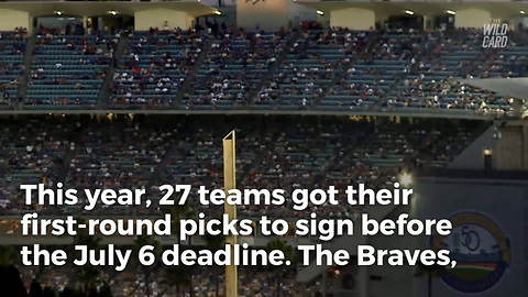 Braves, Dodgers And D-backs All Fail To Sign Their First Round Picks