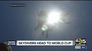 Arizona skydivers head to world cup - Video