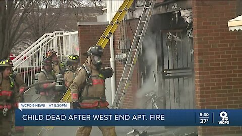 CFD: Toddler dies in West End apartment fire