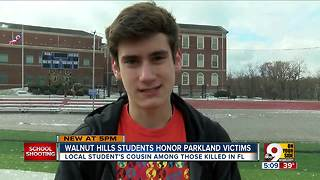 Walnut Hills students honor Parkland victims - Video