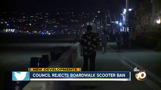 Council rejects boardwalk scooter ban