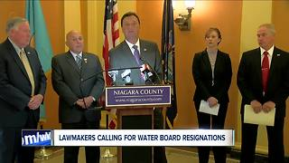 County leaders call for resignation of N Falls water board following sewage discharge - Video