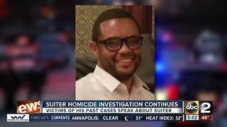 Murder victim's family speaks out on the hard work of Homicide Detective Sean Suiter - Video