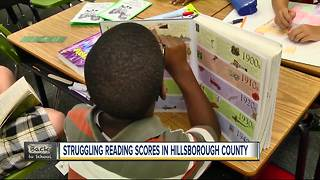 Struggling reading scores in Hillsborough County - Video