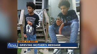 Mother grieving son after fatal hit-and-run