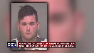 Neighbors of man accused in the Charlottesville attacks in disbelief