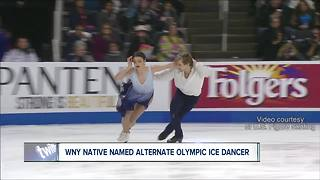 WNY woman named Olympic ice dancing alternate - Video