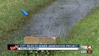 Naples rejects costly sewer system annex for homeowners outside city limits - Video