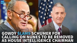 Gowdy Slams Schumer For Calling On Nunes To Be Removed As House Intelligence Chairman - Video