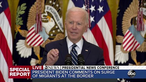 ABC News Special Report: President Joe Biden holds first formal news conference