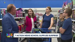 Families given 7 Action News Back to School Supplies Surprise!