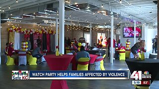 Watch party helps families affected by violence