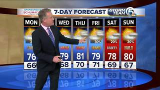 Latest Weather Forecast Sunday - Video
