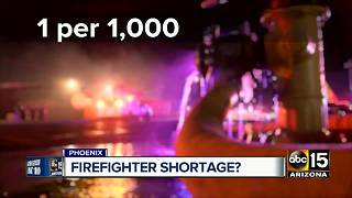 Increase of Phoenix firefighters staff could lead to more taxes - Video