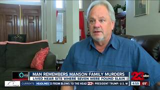 Local man remembers Manson Family Murders - Video
