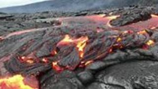 Lava Pours From Hawaii's Kilauea Volcano - Video