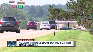 Holiday trouble spots during summer travel season
