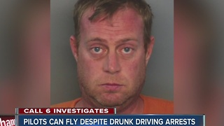 Call 6: Pilot arrested for drunk driving 3x legal limit - Video
