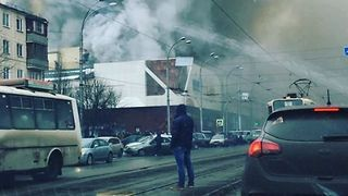 Children Reported Dead After Fire Rips Through Shopping Centre in Southern Siberia - Video
