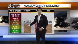 Temperatures to cool down Thursday - Video