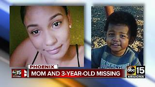 Young mom, son missing in Phoenix