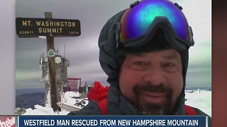 Westfield man rescued from Mt. Washington Summit - Video