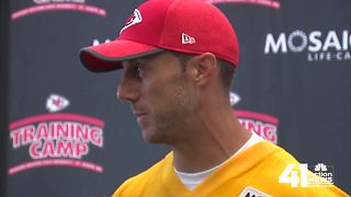 Chiefs' Alex Smith talks Colin Kaepernick - Video