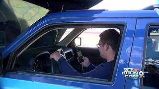Allstate brings distracted driving simulator to UA - Video