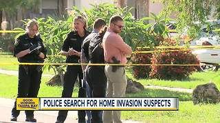 Police search for home invasion suspects in St. Pete