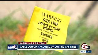 Fishers issues another 'no-dig' order for Metronet after gas line rupture - Video