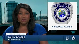 West Palm Beach police warn about phone scam