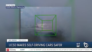 UC San Diego researchers find ways to make self-driving cars safer