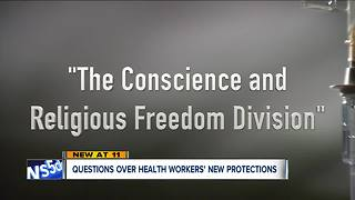 New Trump office would allow doctors, hospitals to deny treatment based on religious beliefs - Video