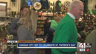 Browne's Irish Market begins St. Patrick's Day - Video
