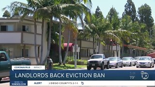Landlords group backs bill to ban evictions
