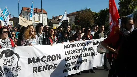 French Labour Reform Protests Kick Off in Final Push Against Law Changes