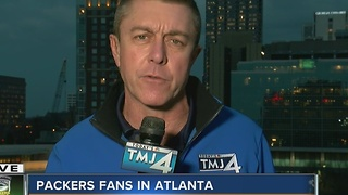 A look at Falcon fans in Atlanta - Video