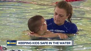 Getting your kids ready to be safe in the water