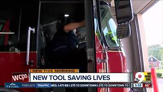 New firefighting tool helps save lives