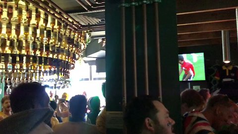 Australian Fans Warm Up Singing Voices With '80s Classic Before World Cup Opener