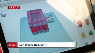 Fourth graders at Shaker Heights elementary school design light box for students in Zimbabwe - Video