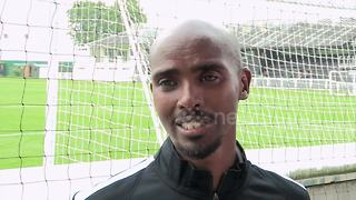 I hope Kane signs for Arsenal - Gunners fans Mo Farah - Video