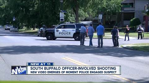 Officer shoots suspect in South Buffalo