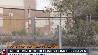 Neighbors living in fear after vagrants invade community - Video