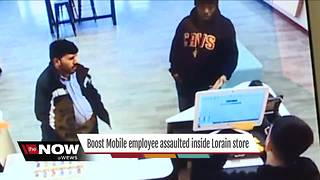 CAUGHT ON CAMERA: Lorain Boost Mobile employee assaulted over return policy - Video