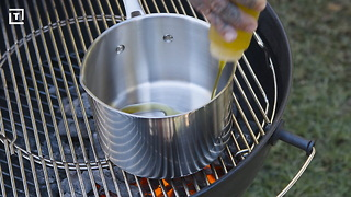 Miller Lite Get Grilling BBQ Sauce Blue - Video