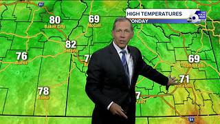 Scott Dorval's On Your Side Forecast: Monday, August 14, 2017 - Video