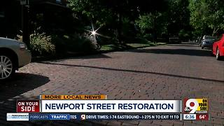 Newport, Ky. stands out when it comes to saving brick streets - Video