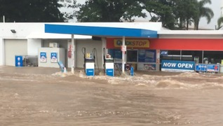 Floodwaters Cover Ingham Roads - Video