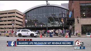 Revenue record set for Bankers Life Fieldhouse - Video